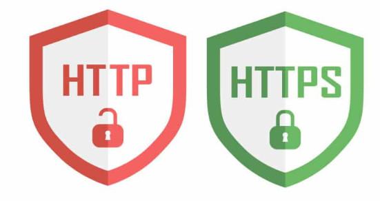 Look for HTTPS
